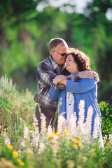 flora <3 (KieraJo) Tags: 200mm 28 canonef200mmf28liiusm l lens bokeh canon 5d mark iii 3 5 d 5d3 fullframe dslr wild flowers floral flora cuddle arms wrapped hold logan canyon tony grove pines utah cache valley beautiful older couple engagement photos poses cute love