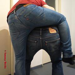 self3161 (Tommy Berlin) Tags: men jeans levis butt ass ars