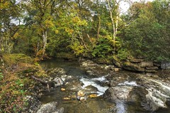 The Falls of Edinample, Loch Earn, Scotland (Baz Richardson (catching up again!)) Tags: scotland lochearn edinample thefallsofedinample waterfalls streams