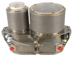 The original Apollo Sextant from flight AS-202 (jurvetson) Tags: apollo cm command module sextant flown as202 flight 202 saturn sa202 test gn guidance navigation 1011000004 nas 9497 kic 12