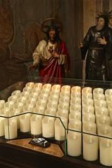 We Light a Candle (smilla4) Tags: church candle stvituschurch ceskykrumlov czechrepublic