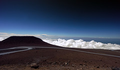 Arid peak (marko.erman) Tags: haleakala mauai hawaii usa island archipelo volcano volcanic summit arid isolated desert sky cloud clouscape landscape panorama horizon sony road travel popular high top blue