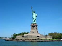 11252016 Liberty Island (karun_291284) Tags: architecture day landmarks landscape libertyisland manhattan newyork sculpture sea ship statueofliberty usa