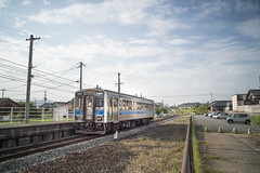 Local Railroad / JAPAN / Sony A7R.2  SUMMICRON-M 28mm F2 ASPH. (mokuu) Tags: railroad  localrailroad  single line  station