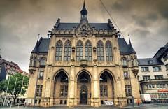 Erfurt - Rathaus (Ventura Carmona) Tags: alemania germany deutschland thringen erfurt rathaus cityhall ayuntamiento venturacarmona