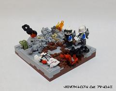 Victory. (JAlexanderHutchins) Tags: lego 253rd star wars clone ryloth victory