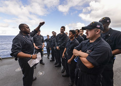161020-N-LR795-017 (SurfaceWarriors) Tags: usnavy usssomerset 11thmeu marines sailors deployment drill muster training amphibioustransportdockship pacificocean california unitedstates