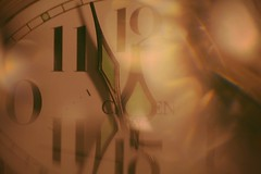 Arrows are pointing at midnight (Tomo M) Tags: macromondays arrow clock clockhands macro midnight