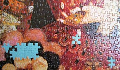 "Elizabeth I - ""The Pelican Portrait"" (pefkosmad) Tags: queenelizabethi queen elizabeth tudor portrait nicholashilliard pelicanportrait art painting symbolism missing pieces falcon puzzle jigsaw hobby pastime leisure costume"