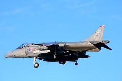 Harrier (calzer) Tags: maverick bae landing zg511 harrier raf kinloss 1 sqn jump jet flying aircraft wheels sunny morning air force royal