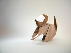 Small Monkey - Yukihiko Matsuno (Rui.Roda) Tags: origami papiroflexia papierfalten mono macaco singe small monkey yukihiko matsuno