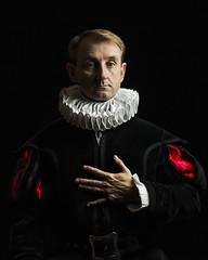 Barroco (Jonsie´s) Tags: barroco época retrato portrait antiguo old hombre man siglo century xvii softbox strobist flash