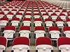 Take a seat........ (PictureJohn64) Tags: iphone flevoland netherlands almere picturejohn64 building gebouw sport hal stadium topsport tribune stoel seat