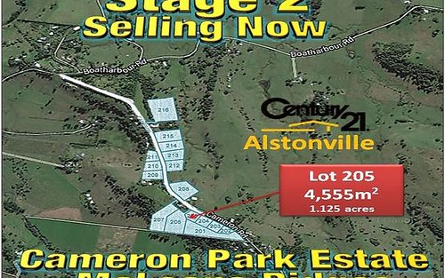 LOT 205, CAMERON ROAD, McLeans Ridges NSW 2480