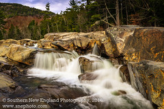 Lower Falls along the Swift River in Conway NH. (Southern New England Photography) Tags: conway waterfalls northamerica water mountains fall newengland kancamagushighway swiftriver river hiking newhampshire parks unitedstates summer lowerfalls whitemountains brook creek nh stream park sigma50mmf14exdghsm