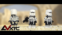 Imperial Hover Tank Pilot - Star Wars Rogue One (AndrewVxtc) Tags: lego star wars rogue one imperial hover tank trooper pilot custom minifigure andrewvxtc