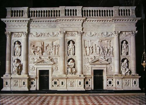 Rivestimento Marmoreo della Santa Casa di Loreto (1509-1578). Parete nord