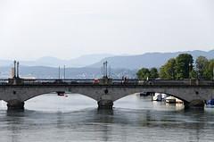 Quai Brcke (CAUT) Tags: zrich zurich schweiz suiza switzerland julio july 2016 caut nikon d610 nikond610 suizo helvetia limmat quaibrcke quai brcke