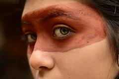 Os  olhos da Samana (erikabarthira) Tags: ndigena ndia cultura olhos arte ensaio