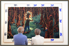 Oeuvre de Jrg Immendorff, Stedelijk Museum, Amsterdam, Nederland (claude lina) Tags: claudelina nederland netherlands paysbas hollande amsterdam muse museum stedelijkmuseum oeuvre art painting peinture jrgimmendorff
