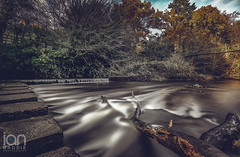 Flow (ianbrodie1) Tags: bothal stepping stones bothalcastle northumberland haida 10 stop nikon d750 longexposure water smooth branch tree