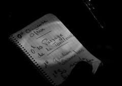 unnamed (annacarvergay) Tags: cursive calligraphy handwriting unnamed namethatfilm french cinema movie film