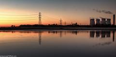Merseyside Autumn (11 of 16) (andyyoung37) Tags: fiddlersferrypowerstation runcorn refelections rivermersey sunset warrington england unitedkingdom gb
