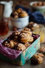 IMG_3961_exp (Helena / Rico sin Azúcar) Tags: galletas cookies nueces nuts walnut naranja orange almendra almond chocolate vanilla vainilla mantequilla butter dessert food christmas