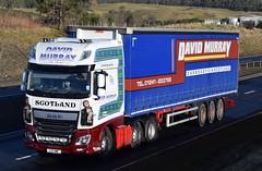 L13OWF  David Murray, Carnoustie (highlandreiver) Tags: blackford l13owf l13 owf david murray carnoustie transport haulage daf wagon truck lorry freight a9 perthshire