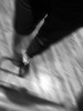 Shopping (MacroMarcie) Tags: iphone7 iphone7plus shopping market groceries thanksgiving macromarcie selfie self selfportrait 365 project365 store feet shoes blur motion monochrome blackandwhite