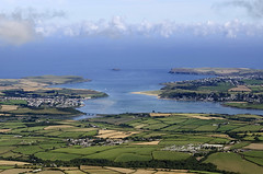 Padstow Bay & the River Camel in Cornwall aerial image (John D F) Tags: cornwall padstowbay aerial aerialphotography aerialimage aerialphotograph aerialimagesuk aerialview britainfromabove britainfromtheair rivercamel