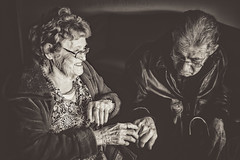 Love Of Mother & Son (Off The Beaten Path Photography) Tags: grandma grandmother son father dad mom mother family 92 73 love special moment human humans people senior beautiful blood embrace touch heart life older