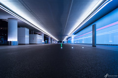 Vanishing point (Benedikt Filip) Tags: nacht strase hessen flughafen ausen symmetrie abstrakt blau fluchtpunkt main architektur linien gebude langzeitbelichtung deutschland alemania allemagne doitsu dgo gebudekomplex germania germany hesse abroad abstract abstractly aerodrome afield airdrome airport ballance blue bluely building buildings bulb drausen edifice exposure lines long night outdoor outside street structure symmetry vanishingpoint   frankfurt de
