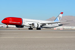 Norwegian Air Boeing 787-9 LN-LNL (nick123n) Tags: las airport plane aviation jet boeing vegas nevada