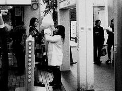IMG_0793 (jumppoint5) Tags: blackandwhite urban city street together people harajuku tokyo japan cottoncandy