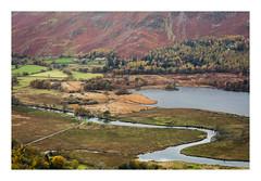 (Light Magnetic) Tags: autumn borrowdale cumbria derwentwater hill lake lakedistrict landscape river uk