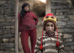 Who are you? (silvia pasqual) Tags: asia asian nepal nepali people portrait portraiture child children childhood mother color colors eyes beauty beautiful mountain village trekking light sun face human humanity reportage documentary world soul travel traveling travelphotography photo photography canon