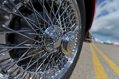 MGB Chrome Wire Wheel (Simon Taylor Photography) Tags: simon photography photo photos images taylor
