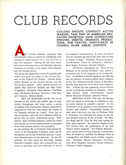 Club Records (Page 1/10) (Hunter College Archives) Tags: art students club photography yearbook clubs hunter biology activities 1937 huntercollege businessclub artclub studentorganizations organizations biologyclub studentactivities studentclubs wistarion studentlifestyles thewistarion avukah