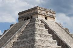 Top of El Castillo (vintagedept) Tags: city holiday heritage history mexico ancient ruins pyramid maya yucatan chichenitza april rivieramaya mx unescoworldheritage centralamerica yucatanpeninsula quintanaroo inah archaeologicalsite steppyramid 2013 tinum mayanpeninsula