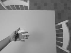 voilà (sonyacita) Tags: blackandwhite kitchen table hand chairs utata:project=ip178
