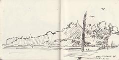 June/ July 2013 Sketchbook (Martin Beek) Tags: travel usa art america idea sketch drawing sketchbook line study americana americantraveldrawings