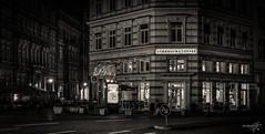 Starbucks (dirk kirchner [www.unforgiven-art.de]) Tags: street city windows blackandwhite bw signs night buildings germany deutschland lights europa europe nightshot nacht fenster hamburg starbucks stadt nightscene alster gebäude hdr hdri lichter nachtaufnahme schwarzweis strase pentaxk5 dirkkirchner exposureunforgivenartde