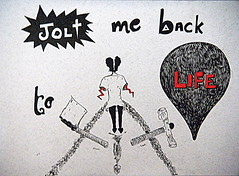 (Saheli!) Tags: life illustration pen sketch drawing picasa jolt