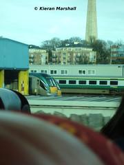 Mark 4 and 22000 at Heuston, 21/2/12 (hurricanemk1c) Tags: irish train rail railway trains railways caf irishrail rok intercity 2012 rotem icr mark4 iarnród 22000 éireann iarnródéireann dublinheuston 3pce