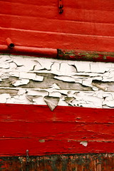Weathered by the sea (Tim Kirman Photography) Tags: red white colour denmark boats boat rust paint worn weathered aged waterline paintedwood timkirmanphotography timkirman