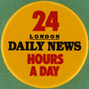 DAILY NEWS LONDON - 24 HOURS A DAY (Leo Reynolds) Tags: canon eos iso100 pin badge button squaredcircle 60mm f80 0125sec 40d hpexif groupbuttons grouppins groupbadges xleol30x sqset096 xxx2013xxx