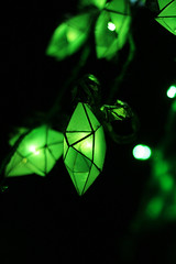 night patrol (Little Trippy Ninja) Tags: christmas light black green dark stars lights star bokeh philippines lantern parol
