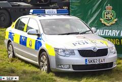 Skoda Superb Leuchars 2013 (seifracing) Tags: uk army scotland superb britain military scottish police british spotting services leuchars skoda armed rmp 2013 seifracing sk62eay