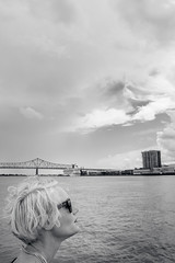 A trip to the states - New Orleans. (Ronnie Gavelin) Tags: bridge sunglasses neworleans mississippiriver nola